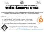 Běh pro Afriku -pozvánka